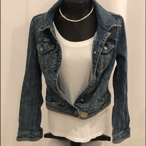 Pilcro and the Letter Press  Jean  jacket